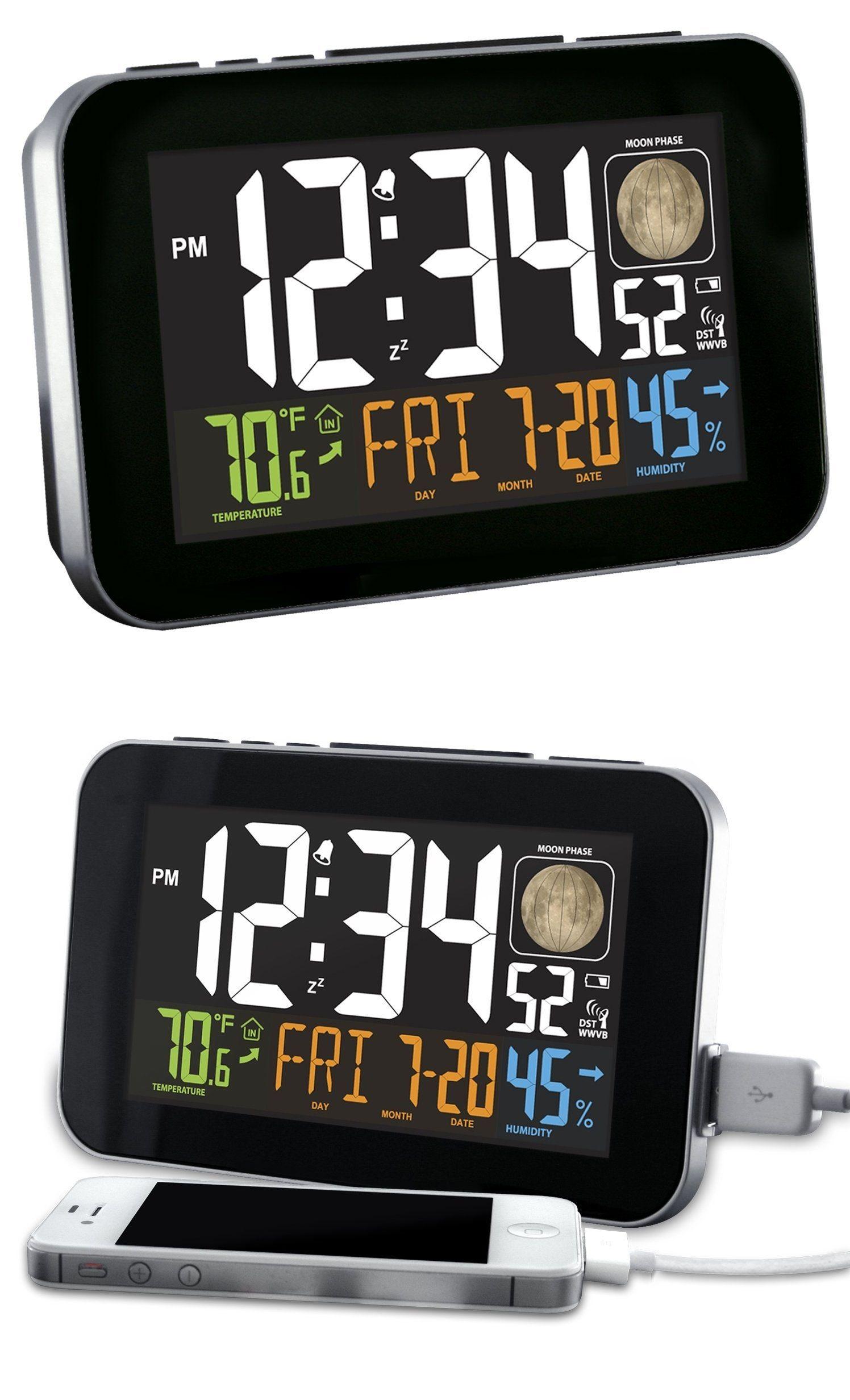Phone Charging Atomic Alarm Clock Alarm clock, Phone