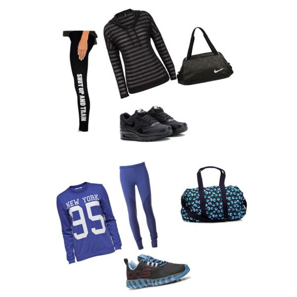 A fashion look from February 2015 featuring Vero Moda sweatshirts, Ilaria Nistri leggings and NIKE sneakers. Browse and shop related looks.