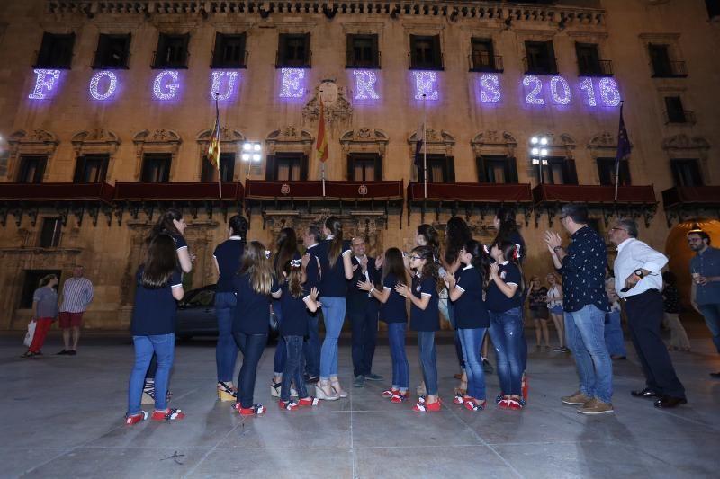 Alumbrado Oficial #Fogueres2016 #Alicante #CostaBlanca