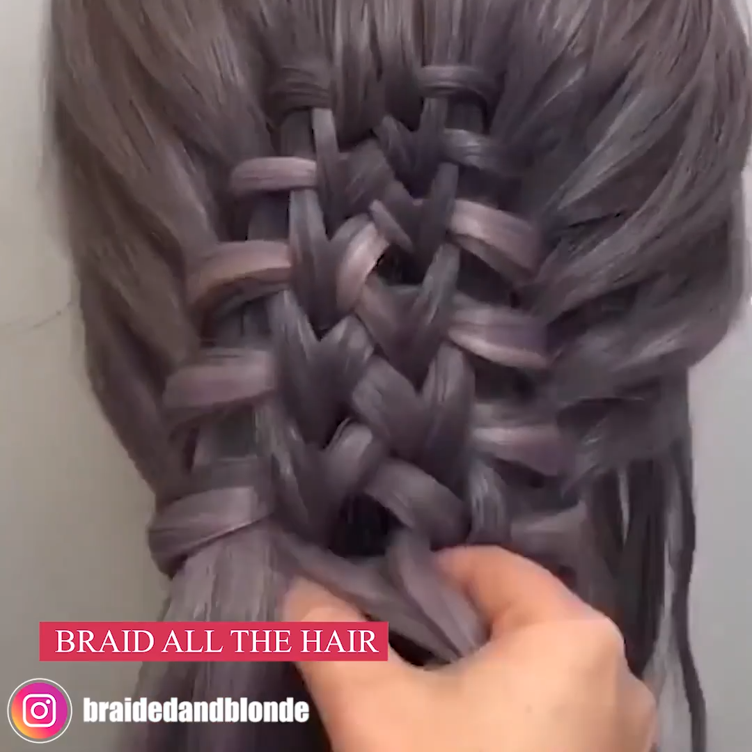 DIFFERENT TYPES OF BRAIDS  #typesofhairstyles