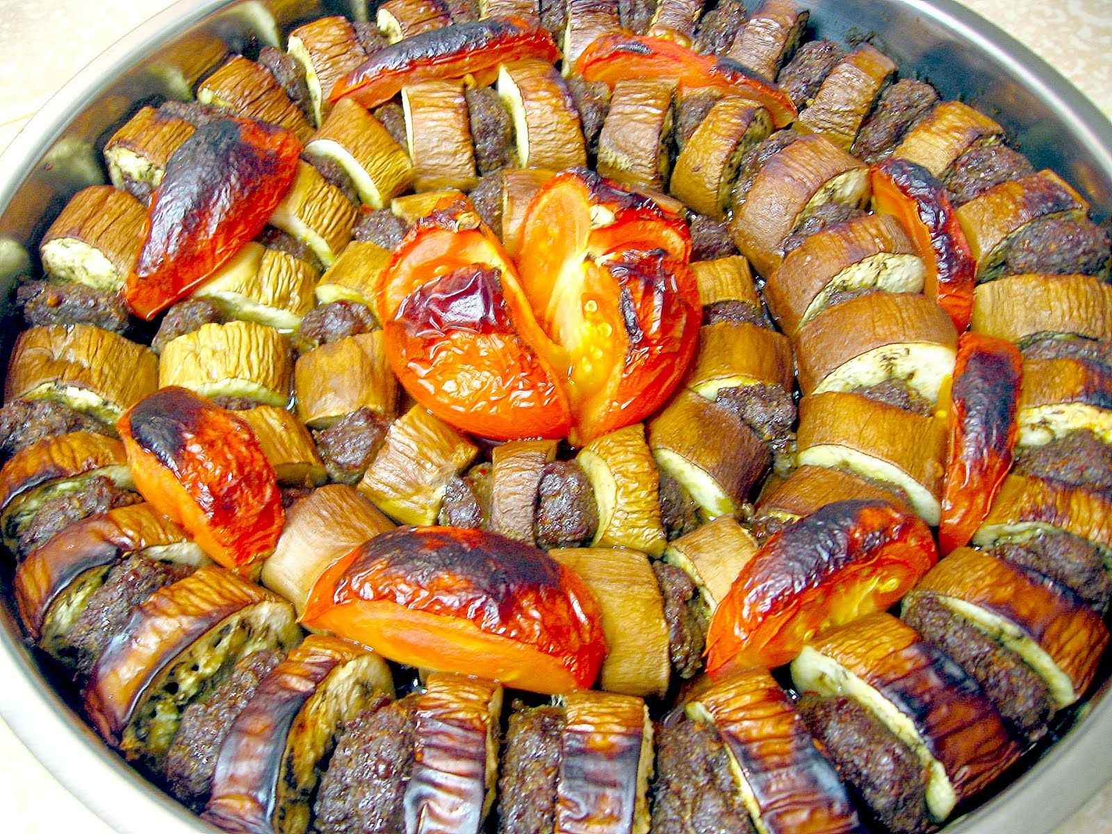Patlican kebab eggplant kebab a traditional turkish dish for Authentic turkish cuisine