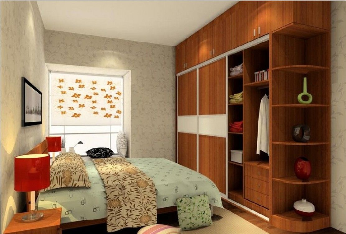 bedroom with simple design for small space modern decorating ideas ...