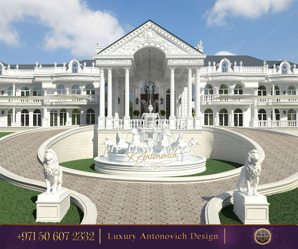 Palace exterior design the most beautiful view with a Palace design