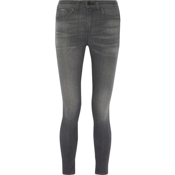 The Skinny Mid-rise Jeans - Dark denim Rag & Bone 573Go0l
