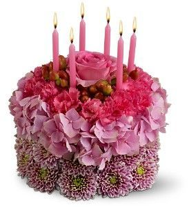 Fine Wishes Come True Birthday Cake Flowers With Images Happy Funny Birthday Cards Online Eattedamsfinfo