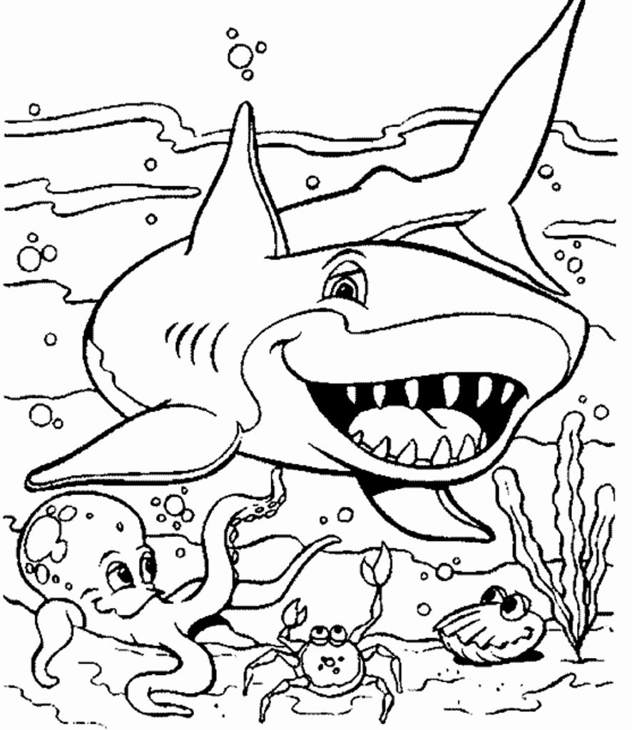 Animal Coloring Book Pdf Elegant Top 48 First Rate Free Animal Coloring Pagesan Animals Color In 2020 Shark Coloring Pages Ocean Coloring Pages Animal Coloring Pages