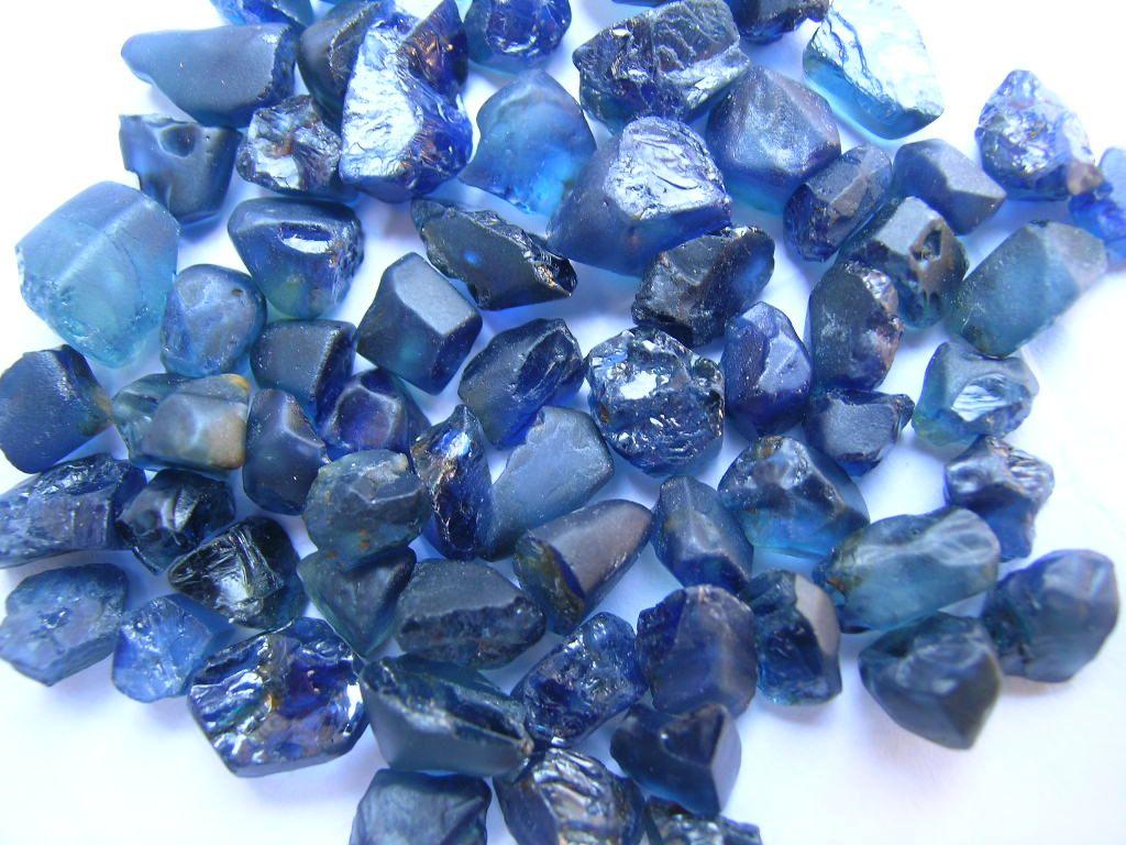 Stunning Raw Sapphires September Sapphire Pinterest