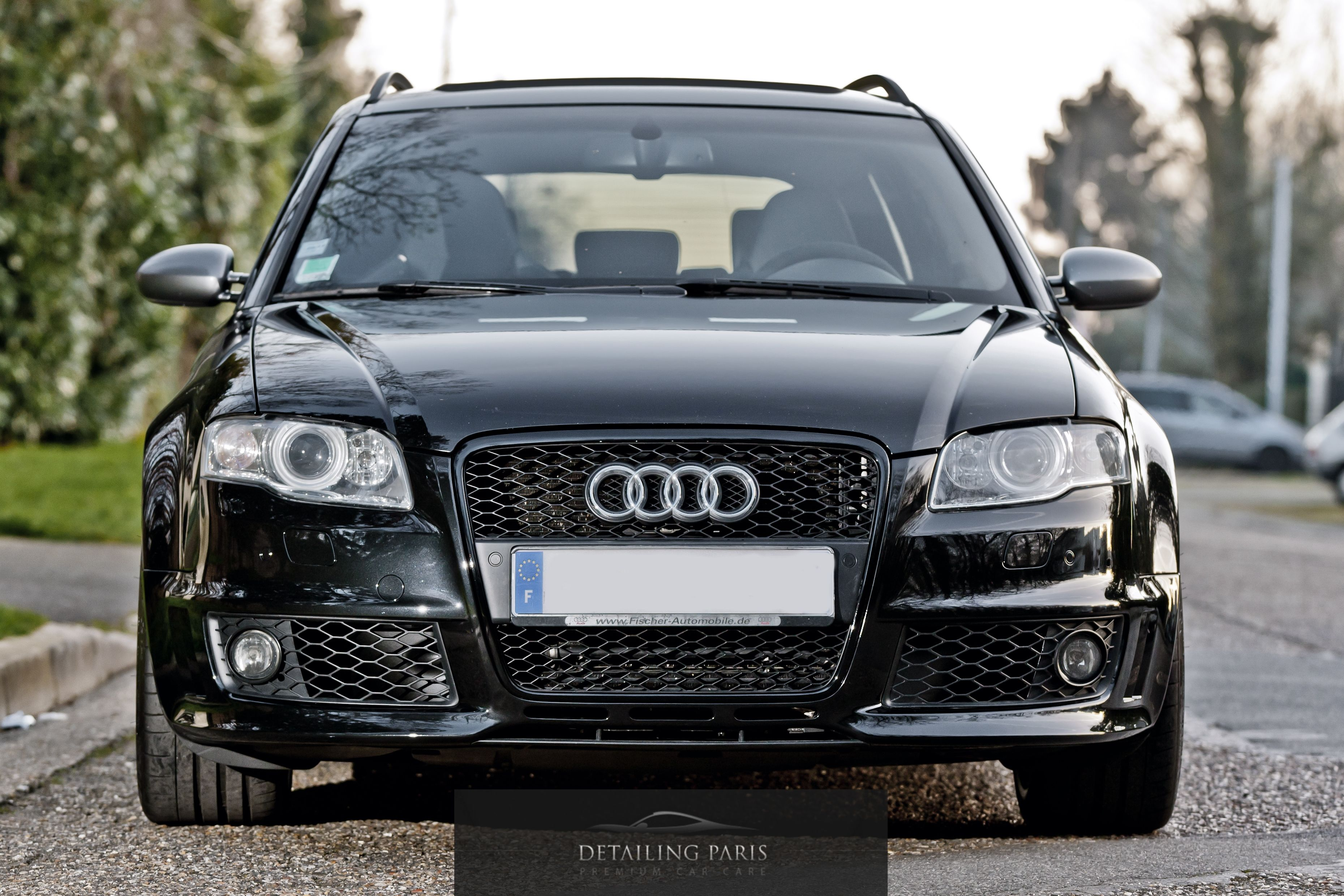 audi rs4 black edition detailing paris audi rs4 b7. Black Bedroom Furniture Sets. Home Design Ideas