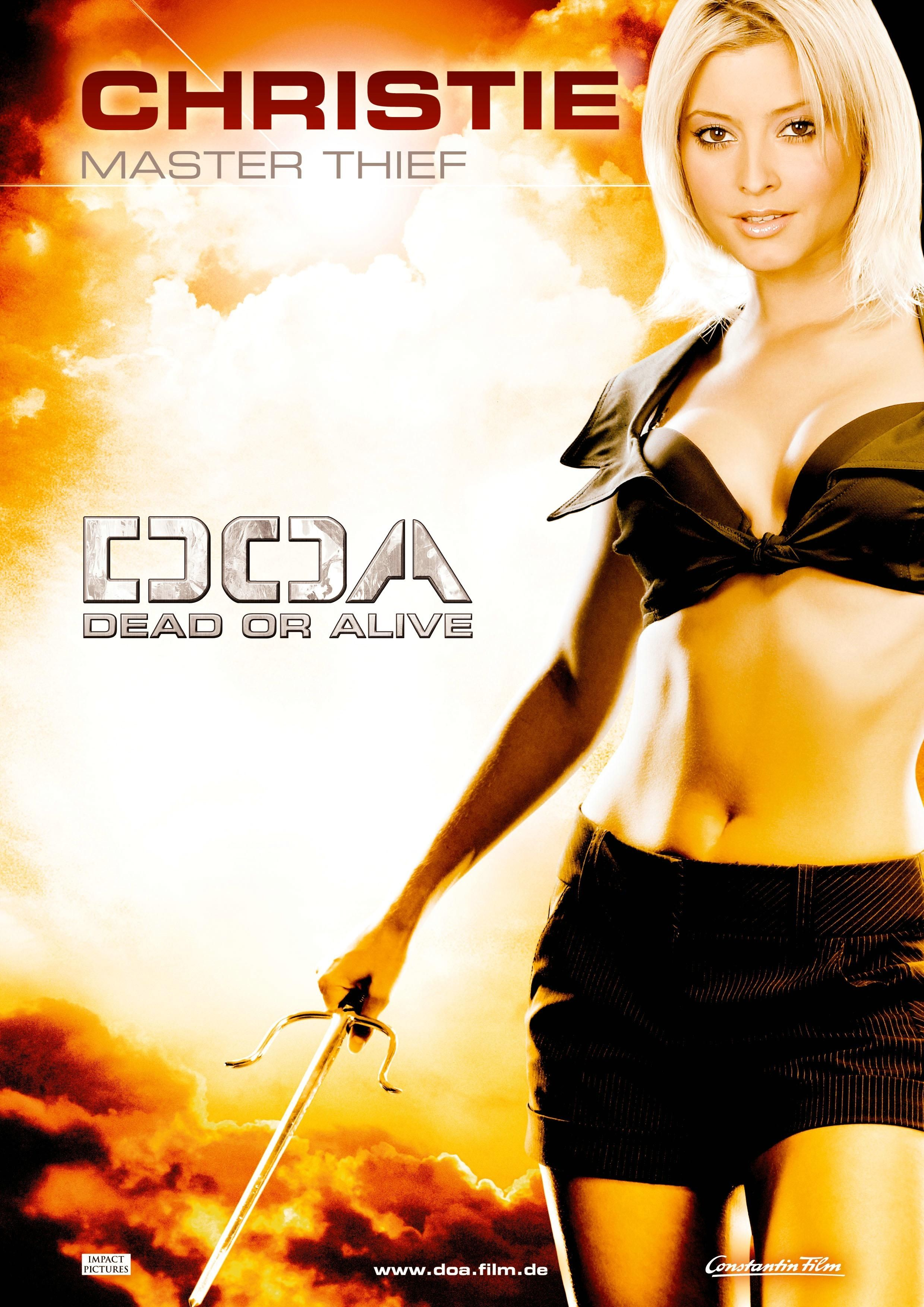 Doa Dead Or Alive 2006 Artes Marciais Poster Marcial