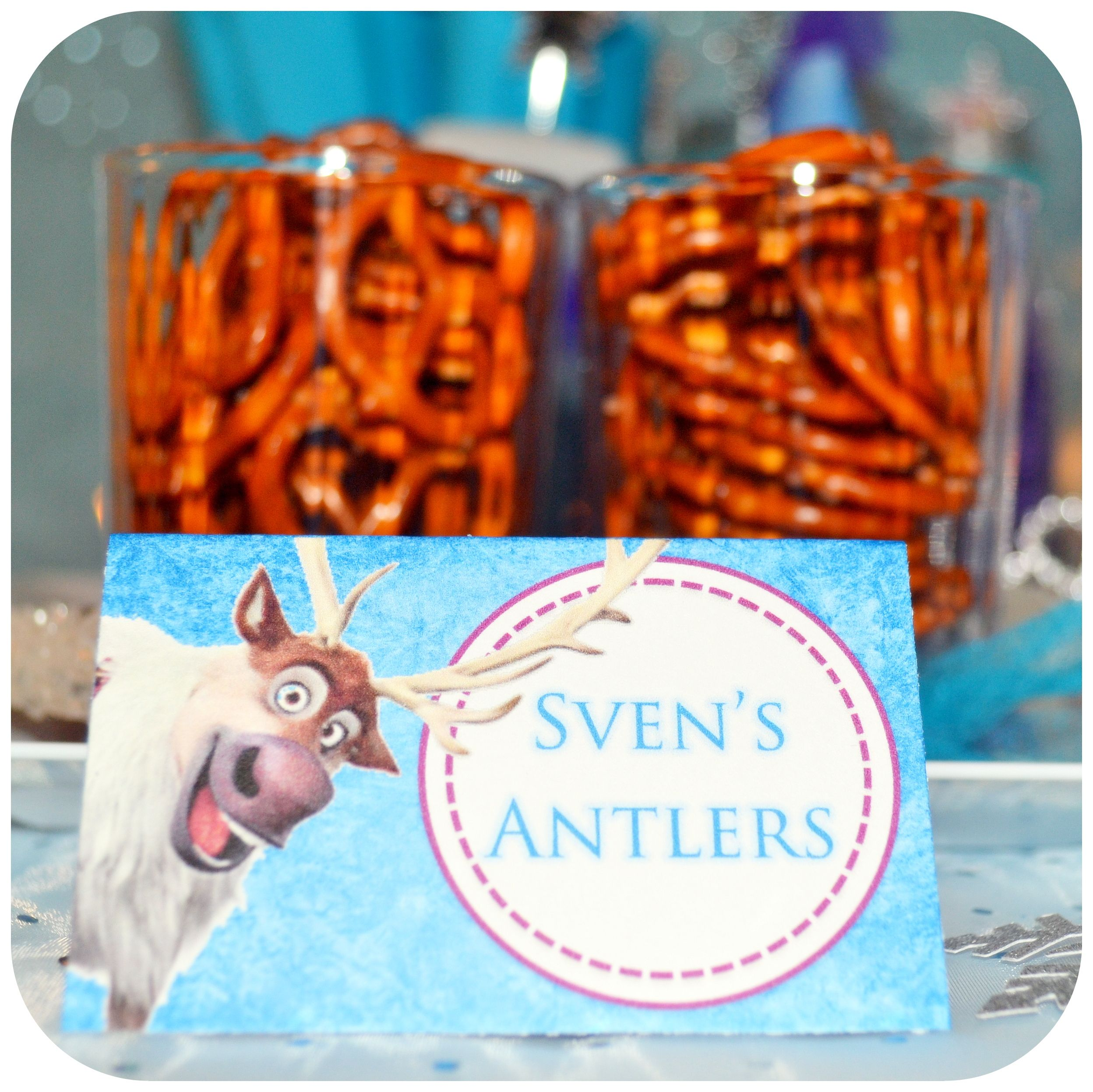 Printable Disney Frozen Party Food Labels By Kraftsbykaleigh