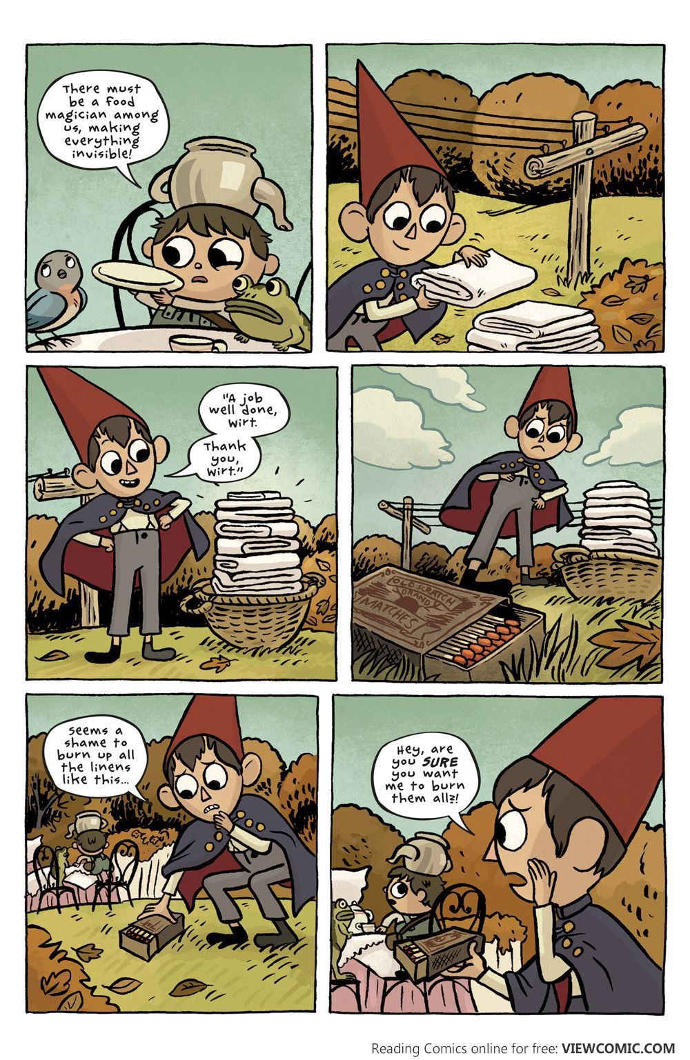 Over The Garden Wall 001 2015 Viewcomic Reading Comics