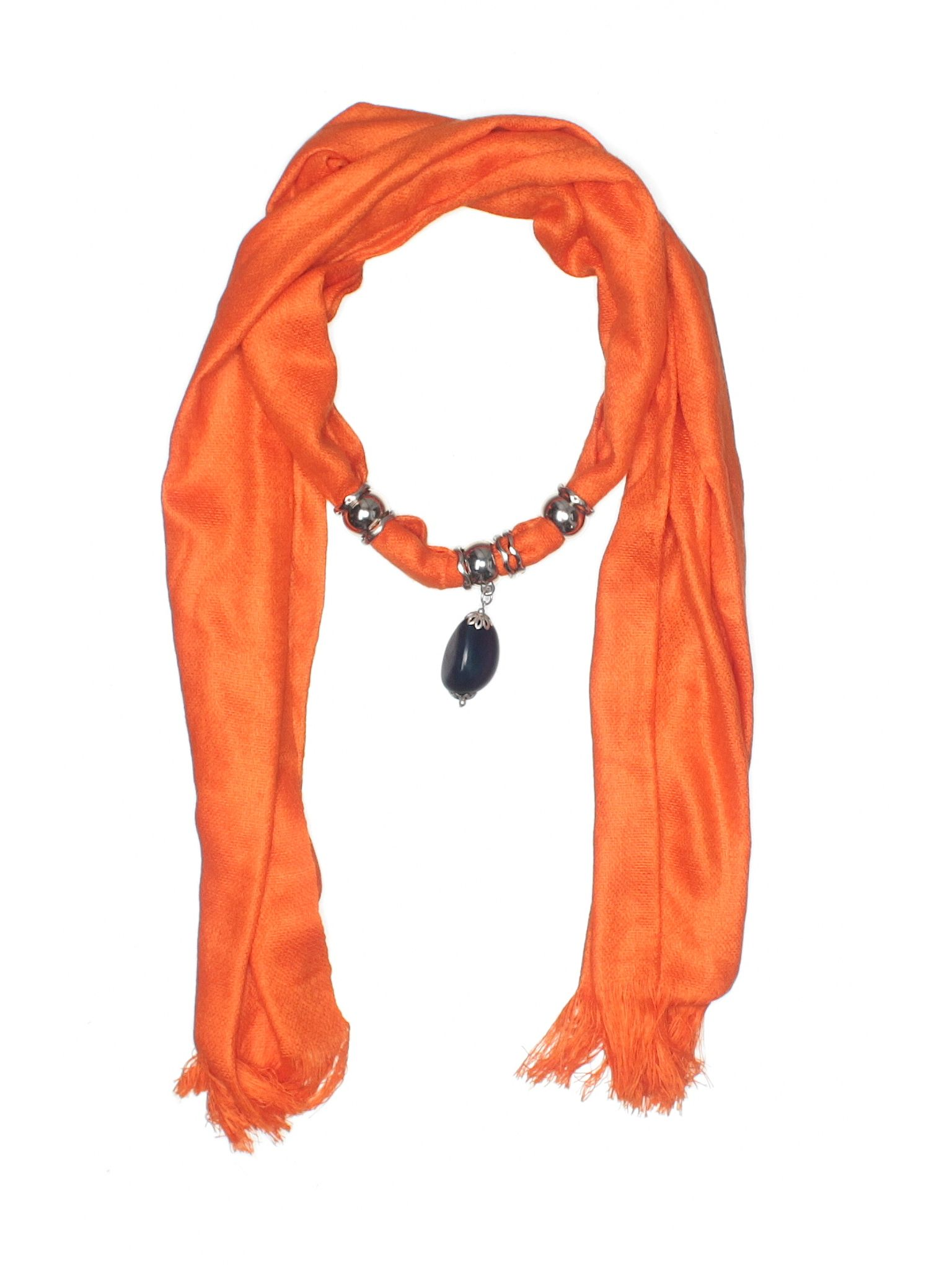Unbranded Accessories Scarf Size 000 Orange Womens Accessories  $1099