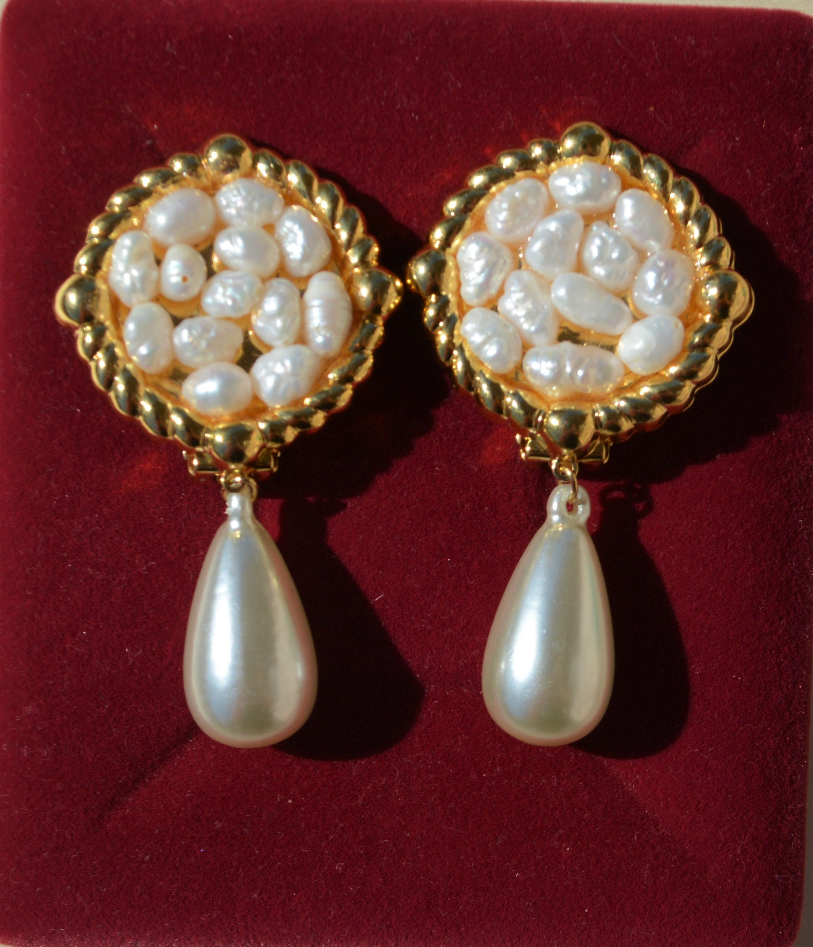 exquisite pretty women real s and crystal jewelry earrings buy pearl category online