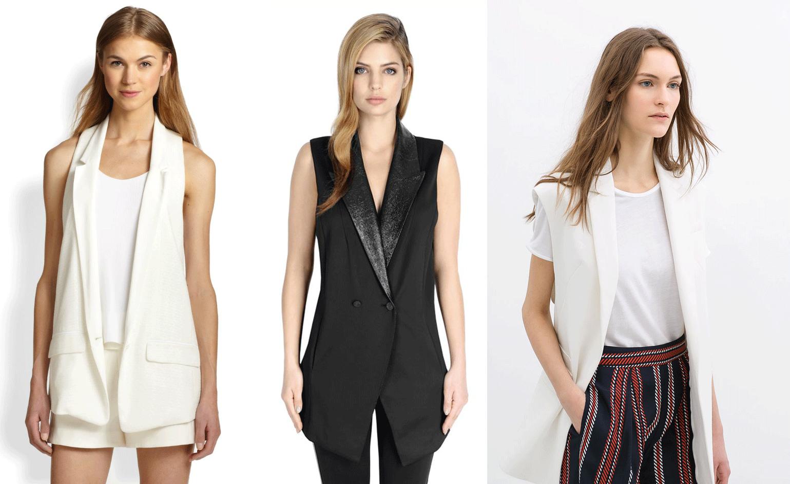 Spring fashion trend 2014 : vests