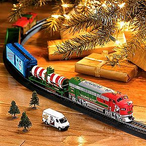 Christmas Train Sets For Under The Tree Christmas Train Set Smithsonian Museum Store