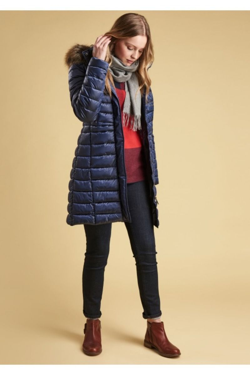 barbour berneray quilted jacket