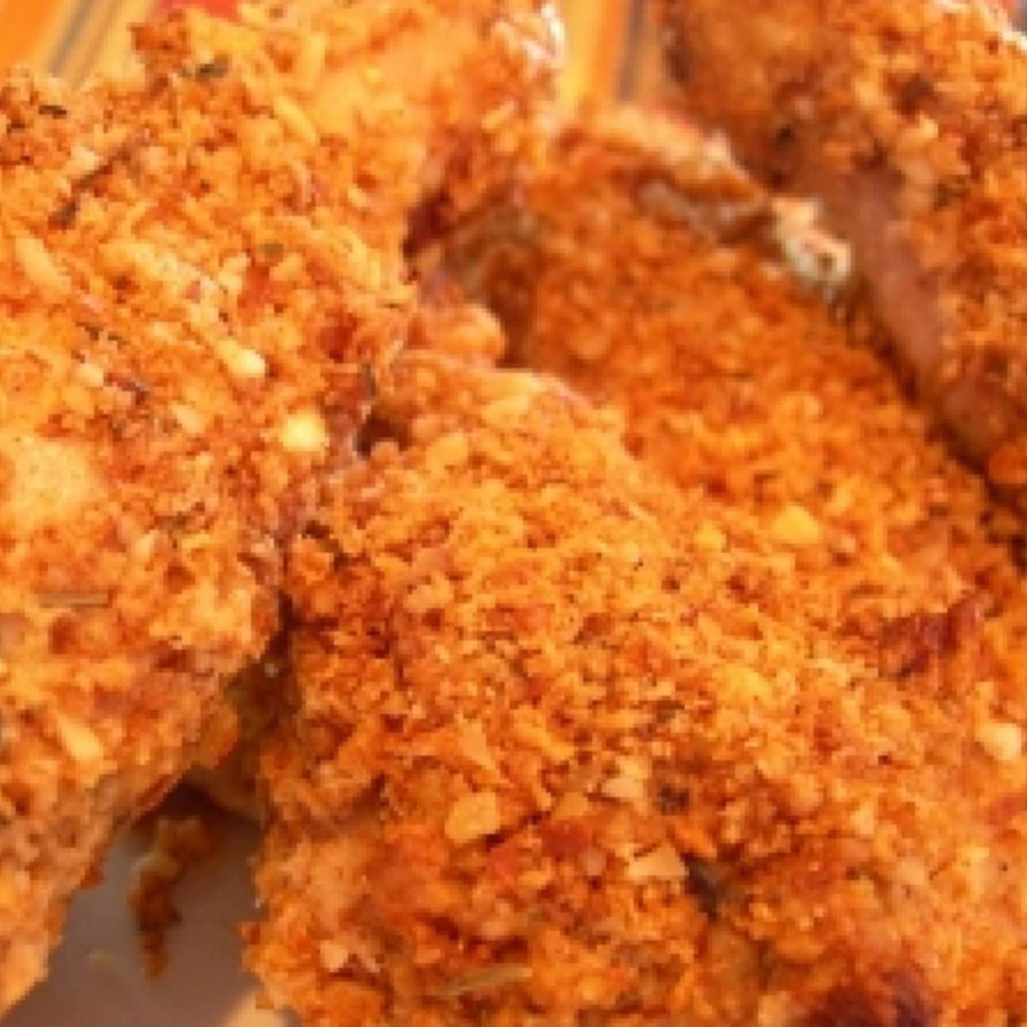 Super Easy Oven Fried Chicken