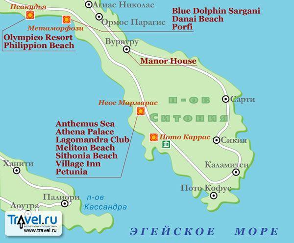 Sithonia. Halkidiki. Greece. | MAPS | Greece, Map