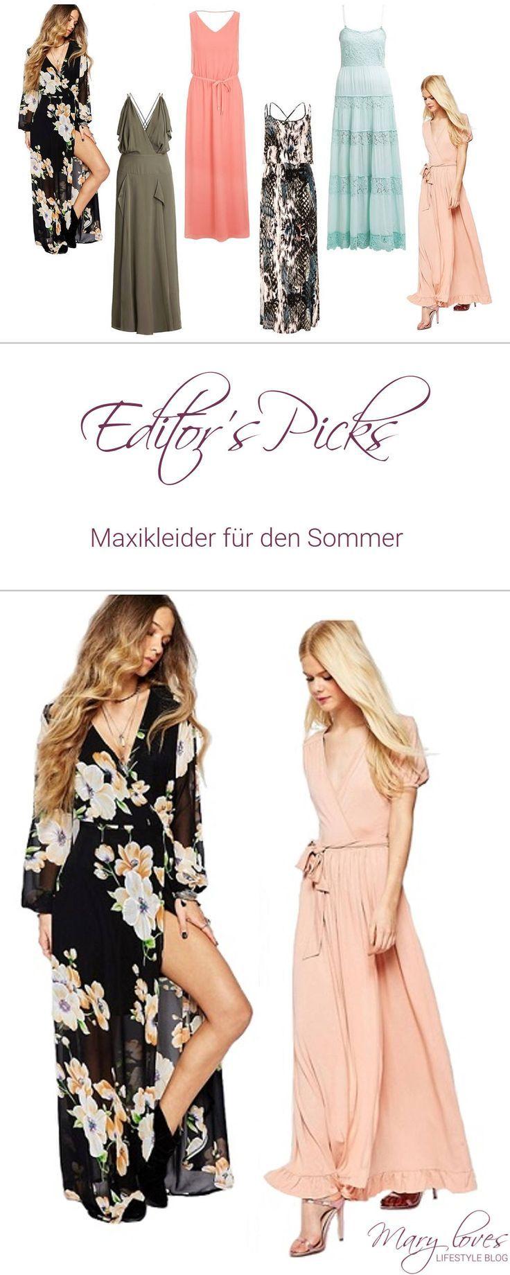 Editor\'s Picks] Maxikleider für den Sommer