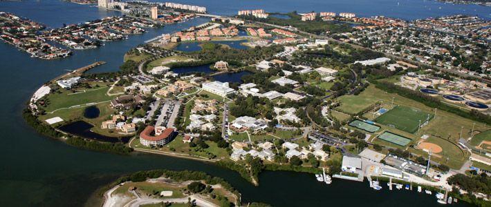 eckerd college campus aerial photograph favorite places