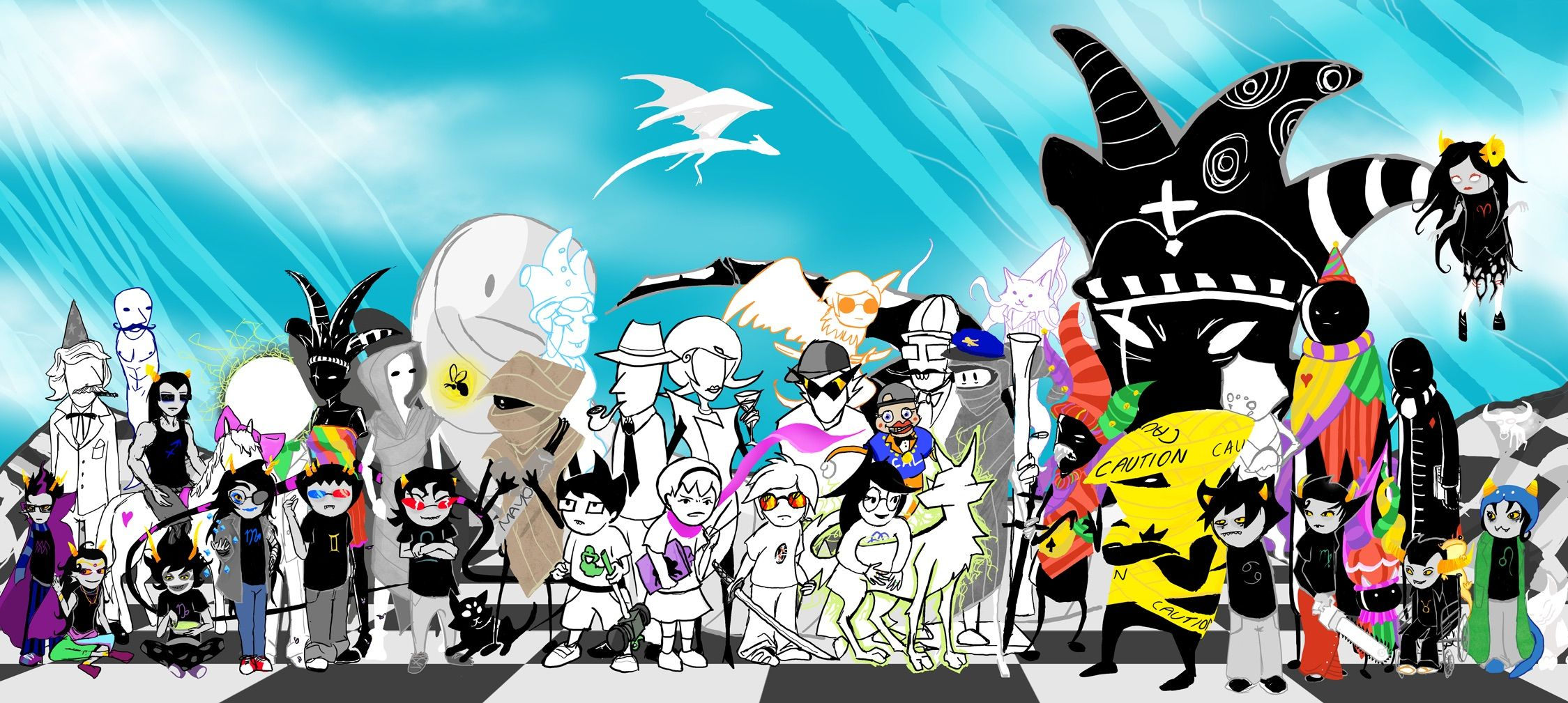 Pin By Take To The Sky On Homestuck Anime Wallpaper Homestuck Anime