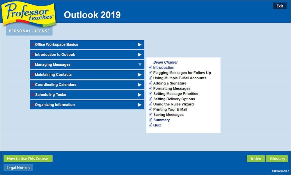 Individual Software Professor Teaches Office 2019 And Windows 10 Windows In 2020 Teaching Training Software Learning Environments