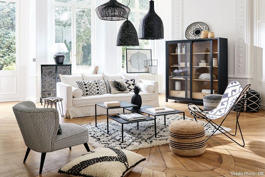 Un tapis berbère dans son salon pour une ambiance cosy Pinterest