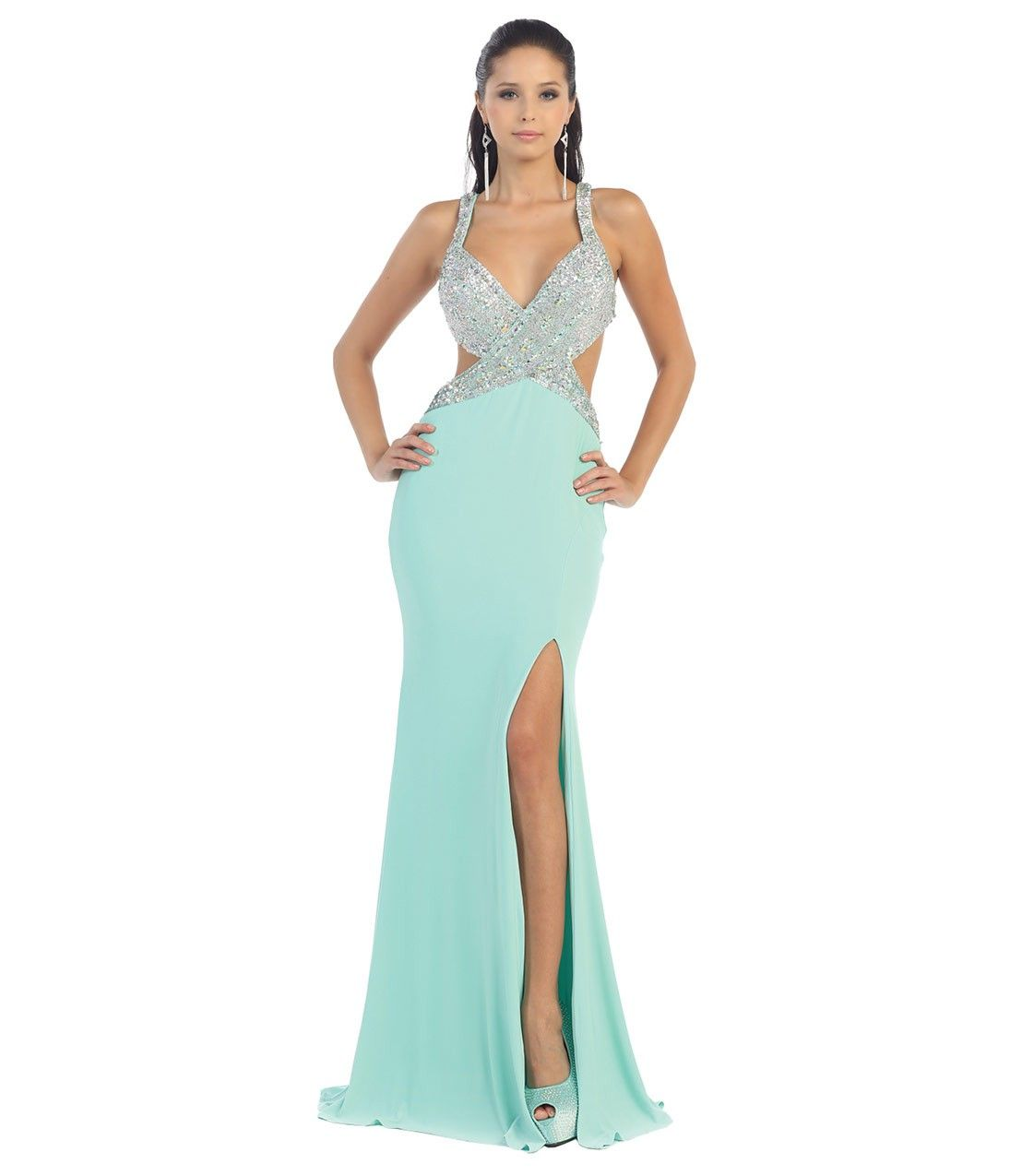 Sexy Seafoam Green #Prom Gown | A Hint of Mint | Pinterest | Green ...