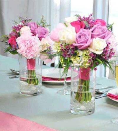 Pin By Rebecca Ann On Flowers Pinterest Table Mariage Deco