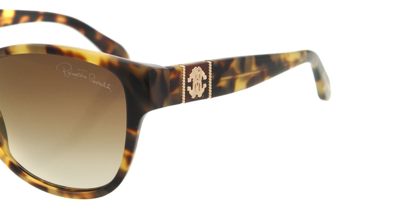Amazon.com: Roberto Cavalli 650 55g Tortoise Caprifoglio Wayfarer Sunglasses: Roberto Cavalli: Clothing