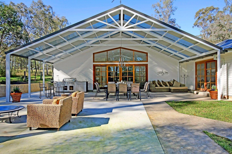 Large gable pergolas carports patios pergolas awnings for Carport deck