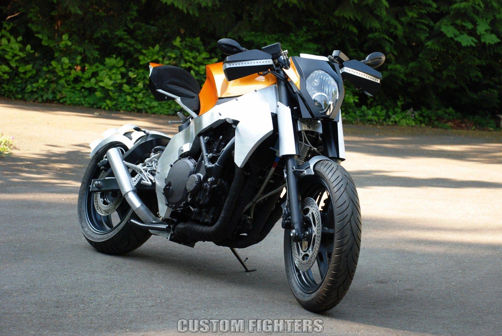 Tuning Honda Cbr 1000 F Custom Streetfighter Street Fighter