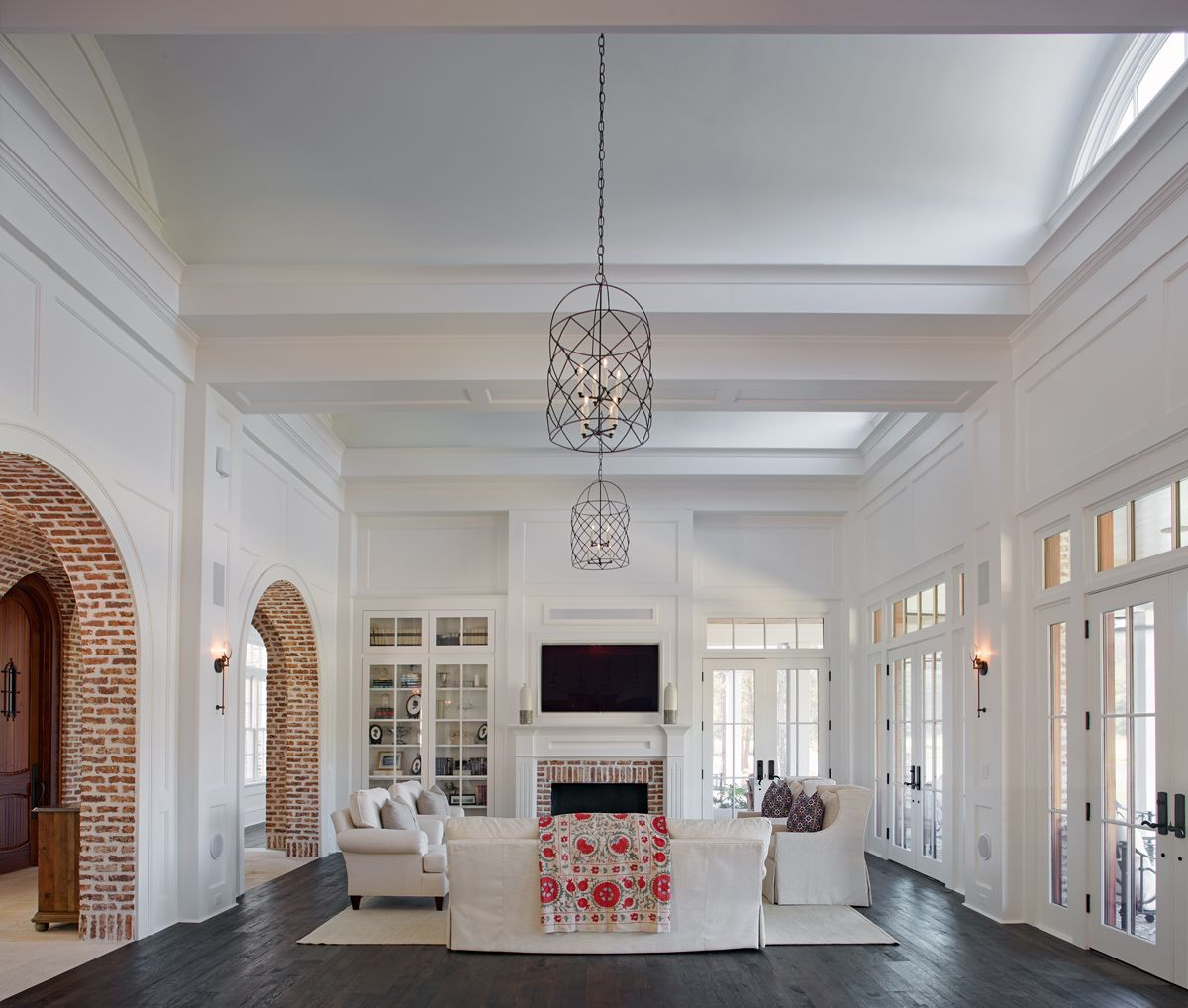 Image by Anne Pappas Interiors on Home Myrtle Grove Lane