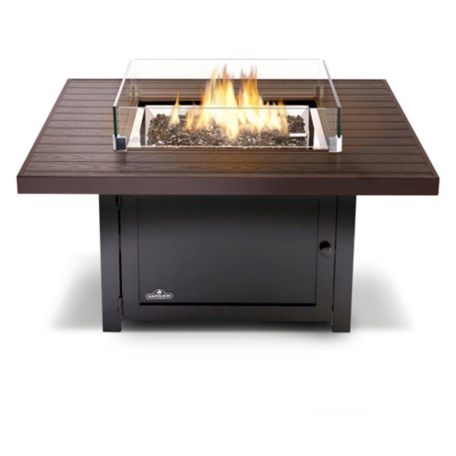 Napoleon Muskoka Square Patioflame Fire Pit Table | Fire ...