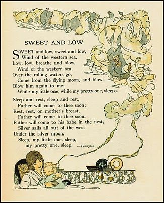 Sweet and Low by Alfred Lord Tennyson