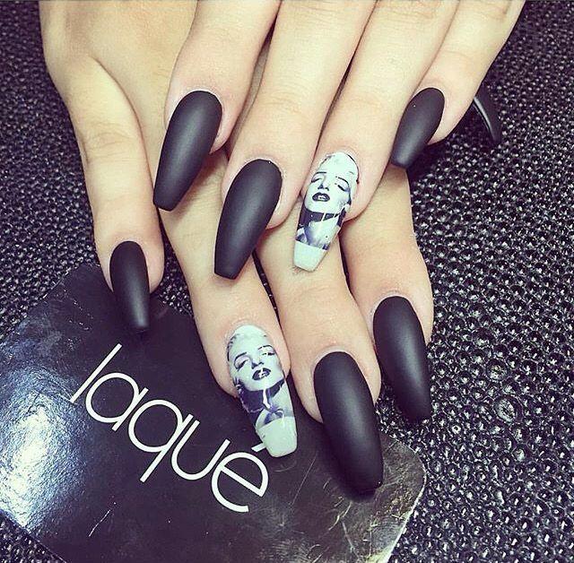 Marilyn Monroe nails | Nails | Pinterest