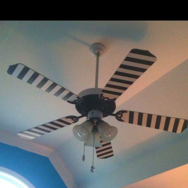 Diy Kitchen Fan: DIY Painted Ceiling Fan.