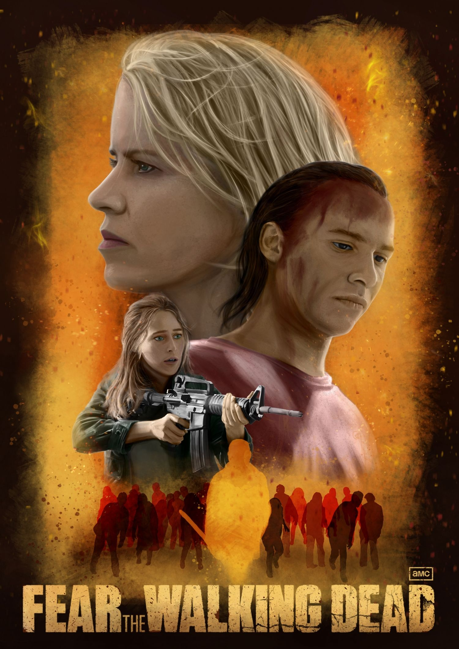 Fear The Walking Dead Season 4 | The Walking Dead | The ...