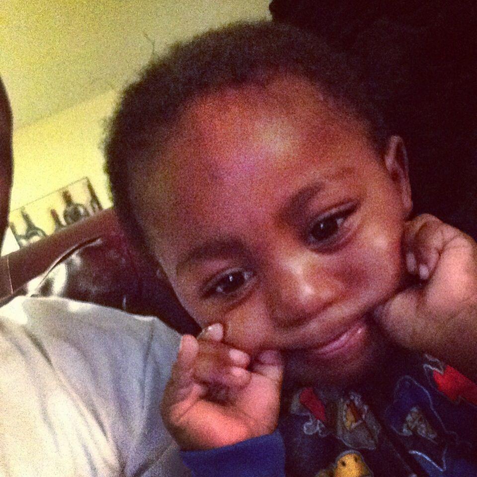 My nephew baby face face nephew