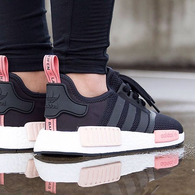 adidas womens shoes nmd black