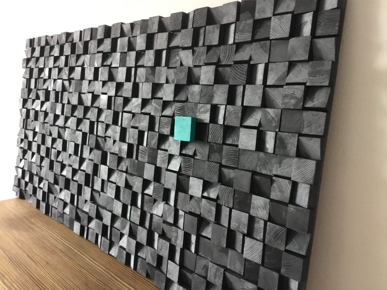 Wood Art Abstract Wall Art Rustic Wall Decor Wood Accent Wall