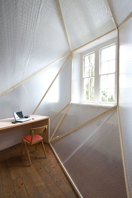 Selective Insulation Is A Project By Berlin Architects Davidson Rafailidis That Creates Insulated Workspaces Wi California Design Interior Tent Living Interior