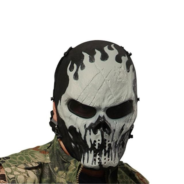 Skull Masks Camouflage Tactical Mask Outdoor Military Full Face Protect Hunting Mask Party Halloween Airsoft Accessories Back To Search Resultshome