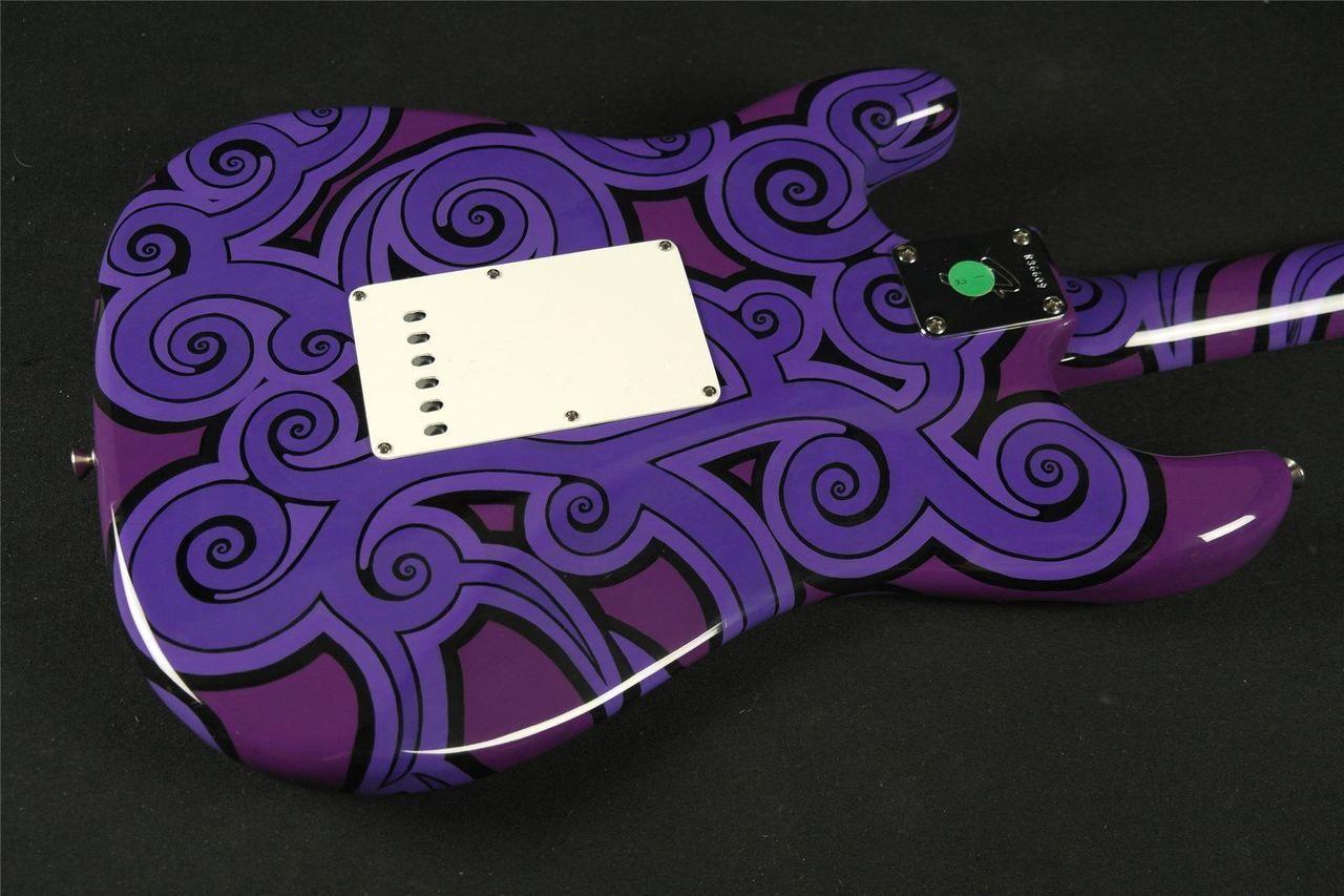 Fender Custom Shop Post 69 Stratocaster NOS – Psychedelic Masterbuilt by Chris Fleming #vintageguitars