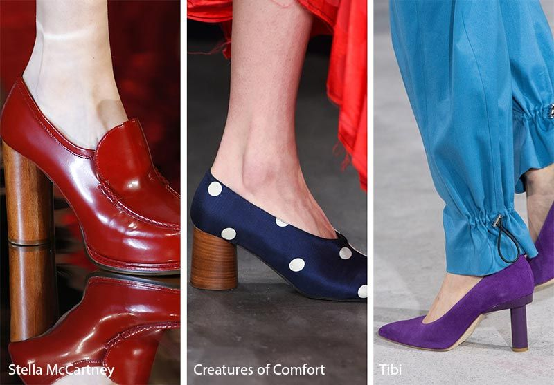 1ed5a6365d391 Fall/ Winter 2018-2019 Shoe Trends: Shoes & Boots with Cylindrical Heels