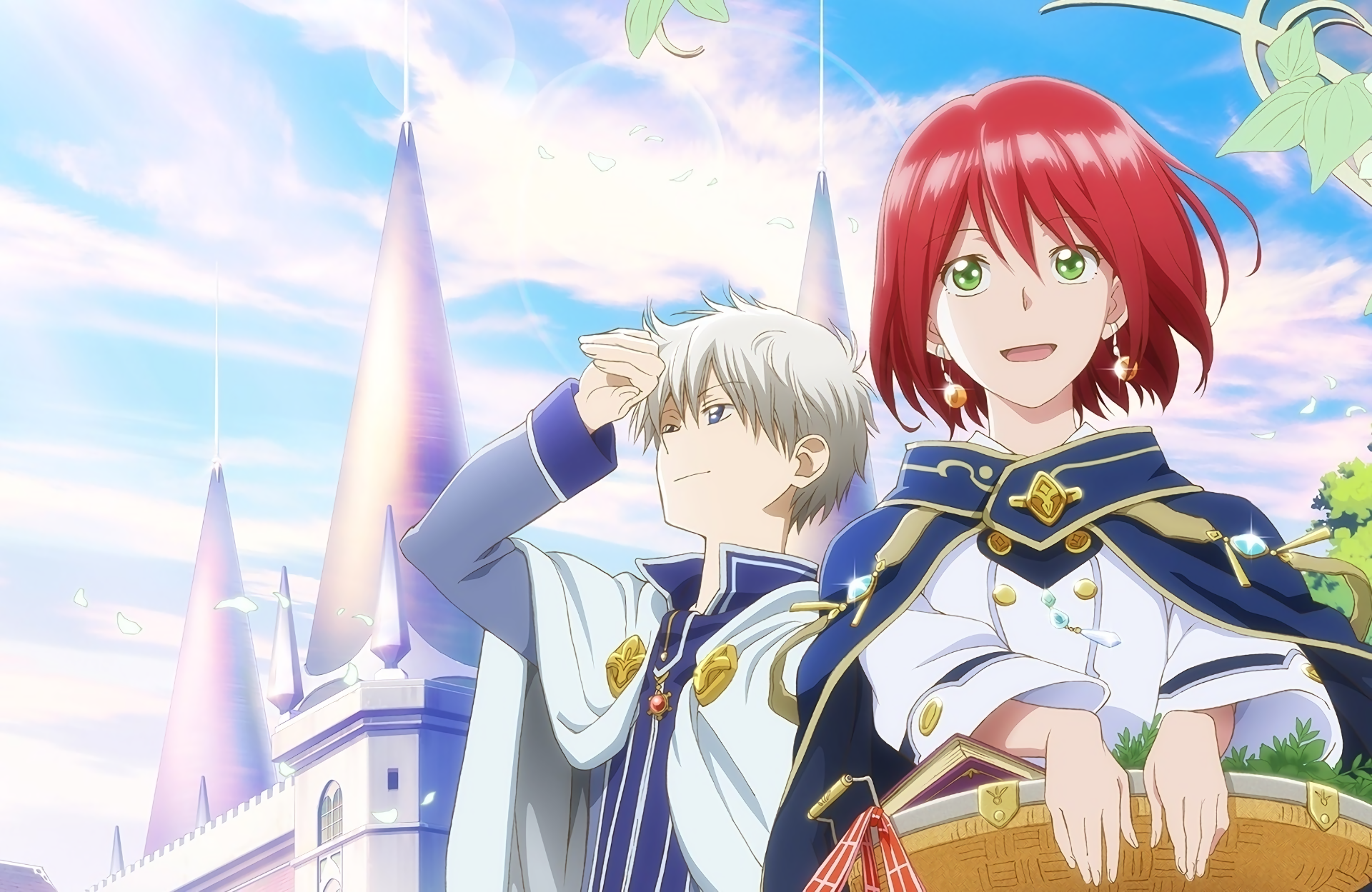 Anime Akagami No Shirayuki Hime Shirayuki Snow White With The Red Hair Zen Wistalia Clarines Akagami Snow White With The Red Hair Anime Snow Red Hair Images