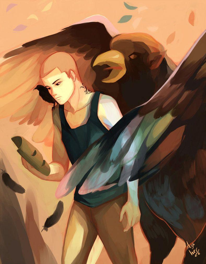 Night Terror By Azeher On Deviantart Raven King Artist Raven