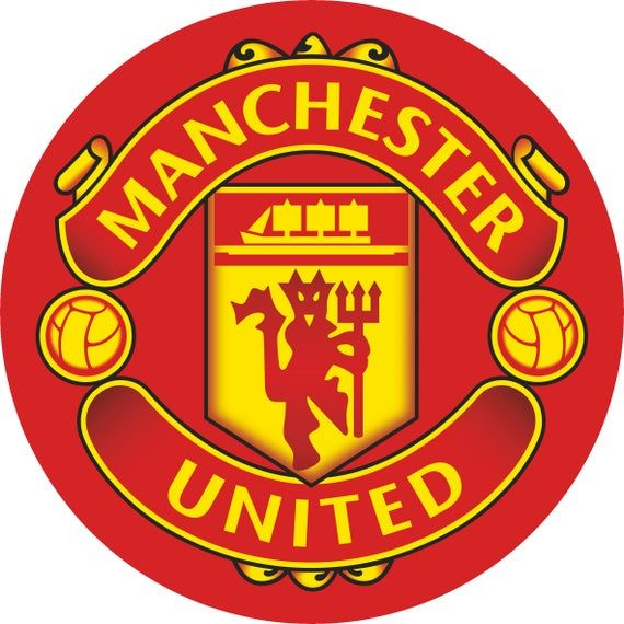 Manchester United Edible Cake Toppers Cupcakes Manchester United Logo Manchester United Wallpaper Manchester United