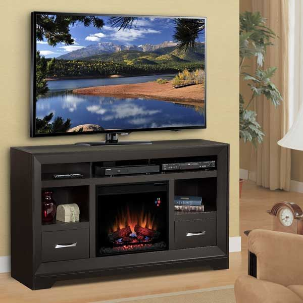 Sofia Fireplace TV Console SCH02-SET - American Furniture ...