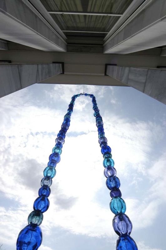 Jean Michel Othoniel 2005 Courtesy Galerie Perrotin Jean Michel Peggy Guggenheim Sculpture